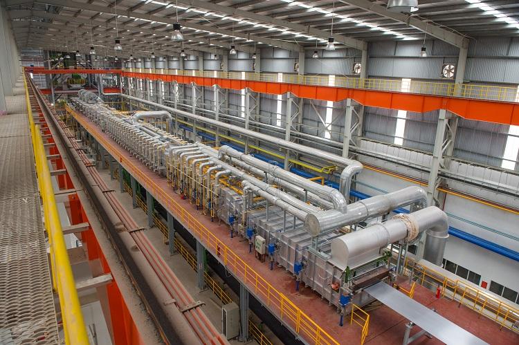 quy trình sản xuất thép mạ steeltruss