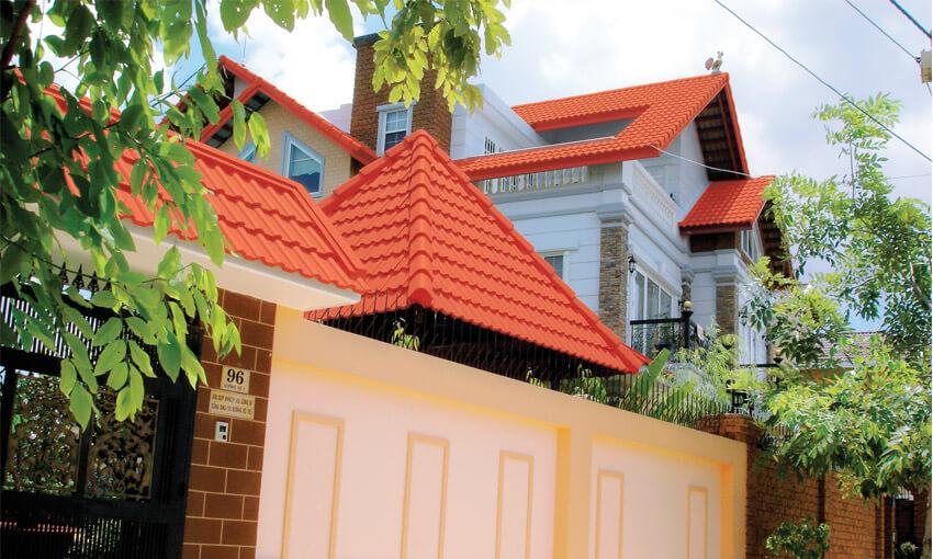 công trình sử dụng ngói Đồng Tâm 907