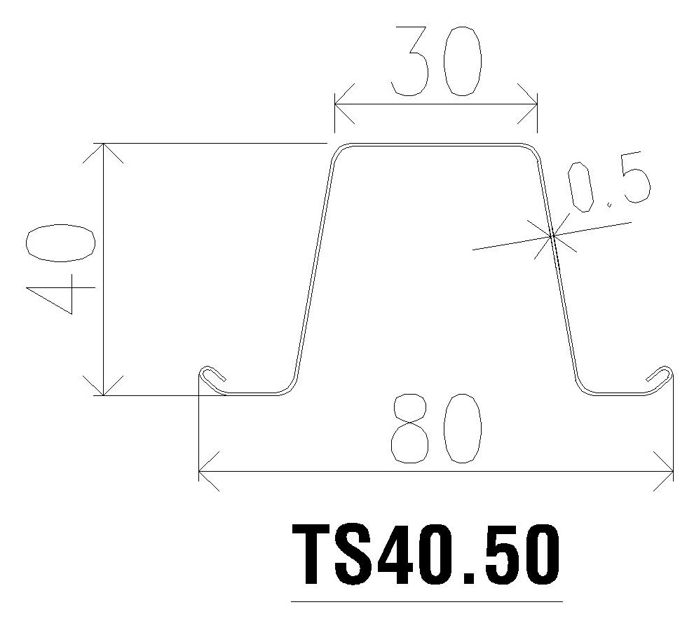 mè ts40.50 steeltruss