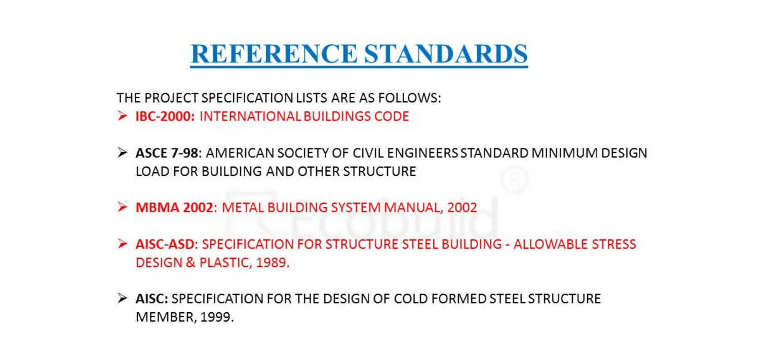 tiêu chuẩn thiết kế kèo thép